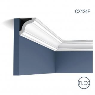 Zierleiste Profilleiste Orac Decor CX124F AXXENT flexible Stuckleiste Stuck Profil Eckleiste Wandleiste 2 Meter