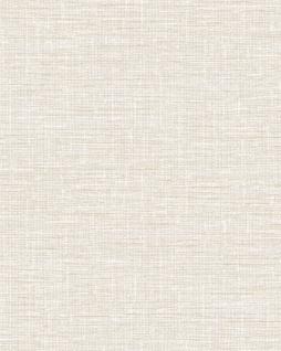 Textiloptik Tapete Profhome DE120111-DI heißgeprägte Vliestapete geprägt in Textiloptik matt weiß 5, 33 m2