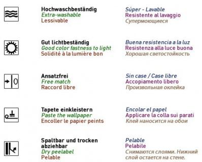 Uni Tapete EDEM 118-25 Tapete gestreift Vinyltapete gute Laune Farbe kiwi-grün perlmutt - Vorschau 4