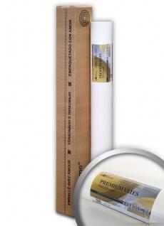 Profhome PremiumVlies Profi-Malervlies Renoviervlies Glattvlies überstreichbare Vliestapete weiß 150 g 25 qm Rolle