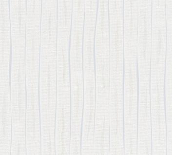 Streifen Tapete Profhome 364744-GU Vliestapete leicht strukturiert mit Streifen matt grau 5, 33 m2