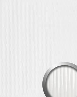 Wandpaneel 3D Wellen-Struktur WallFace 15953 MOTION ONE Design Kunststoff Wandverkleidung selbstklebend weiß| 2, 60 qm