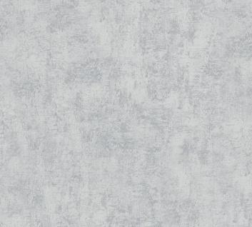 Stein Kacheln Tapete Profhome 224033-GU Vliestapete leicht strukturiert in Steinoptik matt grau 5, 33 m2