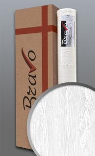 Struktur-Tapete EDEM 83005BR60 Überstreichbare Vliestapete strukturiert in Holzoptik matt weiß 106 m2 1 Karton 4 Rollen
