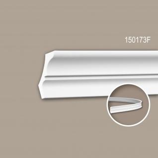 Eckleiste PROFHOME 150173F Zierleiste Flexible Leiste Stuckleiste Neo-Klassizismus-Stil weiß 2 m
