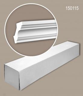 Profhome 150115 1 Karton SET mit 12 Eckleisten Zierleisten Stuckleisten | 24 m