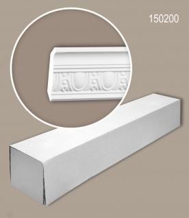 Profhome 150200 1 Karton SET mit 8 Eckleisten Stuckleisten Zierleisten | 16 m