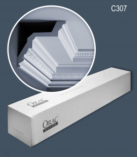 Orac Decor C307 LUXXUS 1 Karton SET mit 12 Stuckleisten 24 m