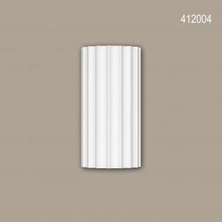 Vollsäulen Segment 412004 Profhome Fassadenstuck Säule Fassadenelement Ionischer Stil weiß