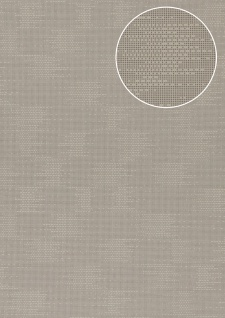 Uni Tapete Atlas COL-499-2 Vliestapete strukturiert mit Struktur matt grau grau-beige 5, 33 m2