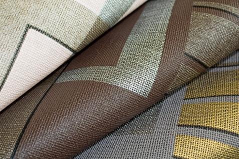 Grafische Muster Retro Tapete Vliestapete EDEM 609-96 70er Tapete XXL Designer 3D Retro Muster abstrakt grau silber gold 10, 65 qm - Vorschau 2