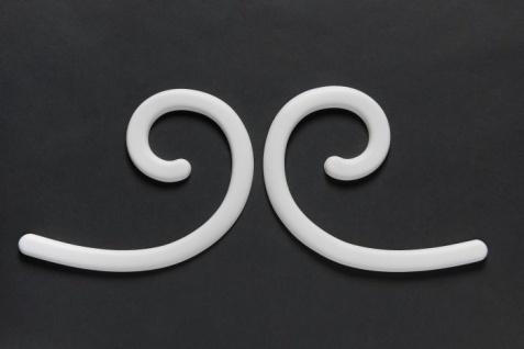 Stuckgesims von Orac Decor G74L Curl Maxi Ulf Moritz LUXXUS Zierelement Stuckprofil klassisches Wand Dekor Element weiß - Vorschau 3
