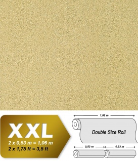 Uni Tapete Vliestapete EDEM 917-28 Luxus Tapete in XXL geprägte Struktur olive beige-braun 10, 65 qm