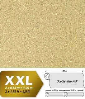 Uni Tapete Vliestapete EDEM 917-28 Tapete in XXL geprägte Struktur olive beige-braun 10, 65 qm
