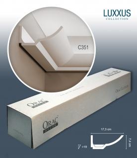 Orac Decor C351 LUXXUS 1 Karton SET mit 8 Stuckleisten | 16 m