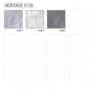 Spachtel Putz Tapete ATLAS HER-5130-3 Vliestapete geprägt im Landhaus-Stil schimmernd beige perl-weiß perl-hell-grau 7, 035 m2 - Vorschau 4