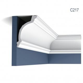 Stuckleiste Orac Decor C217 LUXXUS Zierleiste Eckleiste Dekorprofil Stuckprofil Decken Wand Leiste klassisch 2 Meter