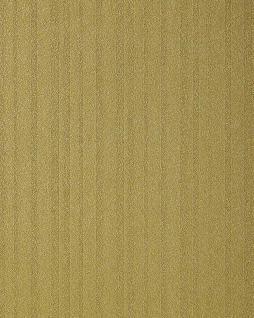 Streifen Tapete EDEM 1015-15 Designer Uni-Tapete dezent gestreiftes Struktur hochwaschbare Oberfläche oliv-grün gold-grün - Vorschau 1