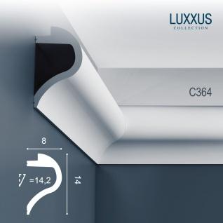 Orac Decor C364 LUXXUS 1 Karton SET mit 7 Stuckleisten | 14 m - Vorschau 2