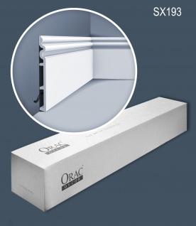 Orac Decor SX193-box 1 Karton SET mit 6 Sockelleisten Stuckleisten | 12 m