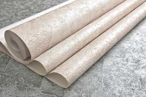 Spachtel Putz Tapete EDEM 9077-20 heißgeprägte Vliestapete geprägt im Shabby Chic Stil glänzend creme weiß hell-elfenbein 10, 65 m2 - Vorschau 3