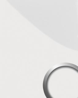 Wandverkleidung abriebfest selbstklebend WallFace 15422 DECO MAGIC Wandpaneel Design leicht glänzend perlweiß   2, 60 qm