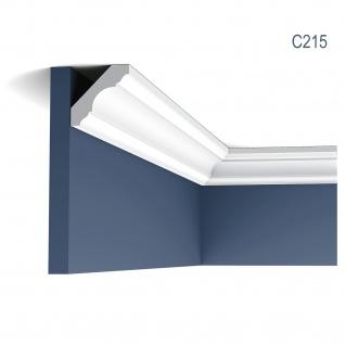 Zierleiste Orac Decor C215 LUXXUS Eckleiste Deckenleiste Stuckleiste Decken Wand Leiste klassisch 2 Meter