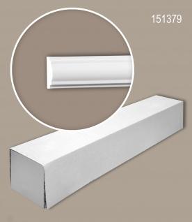 Profhome 151379 1 Karton SET mit 25 Wand- und Friesleisten Zierleisten Stuckleisten | 50 m