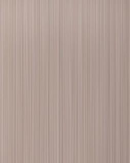 Uni-Tapete EDEM 598-23 Geprägte Tapete strukturiert mit Streifen matt blass-braun beige-braun 5, 33 m2