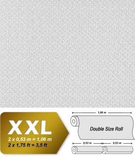 Struktur Tapete EDEM 390-60 Streichbare Vliestapete dekorative Struktur-Tapete maler weiß   26, 50 qm - Vorschau 2