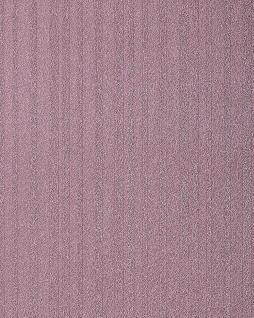 Streifen Tapete EDEM 1015-14 Fashion Design Uni-Tapete dezent gestreifte Struktur-Muster hochwaschbare Oberfläche violett