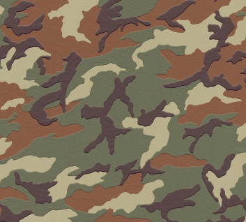 Kinder Tapete Profhome 369406-GU Vliestapete glatt mit abstraktem Muster matt grün braun 5, 33 m2