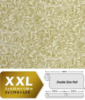 Grafik Tapete Vliestapete EDEM 605-85 XXL Designer Pop Art Raster kreatives Hologramm-Muster olivgrün hellgrün khaki creme | 10, 65 qm