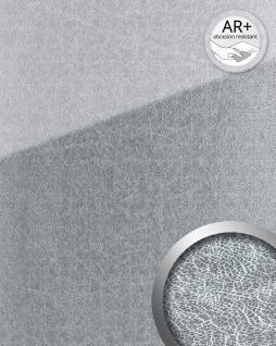 Wandpaneel Glas-Optik WallFace 20206 SHATTERED Silver AR+ Wandverkleidung glatt in Marmor-Optik spiegelnd selbstklebend abriebfest silber silber-grau 2, 6 m2