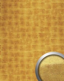 Wandplatte Paneel selbstklebend gold WallFace 17845 DECO LUXURY Wandpaneel Design Metalloptik Wandverkleidung | 2, 60 qm