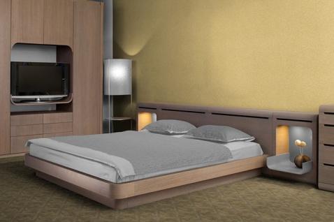 Uni Tapete EDEM 706-21 Hochwertige Luxus Heißpräge Struktur Tapete gelb gold bernstein-gelb - Vorschau 2