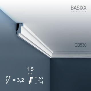 Orac Decor CB530 BASIXX 1 Karton SET mit 10 Stuckleisten Eckleisten | 20 m - Vorschau 2