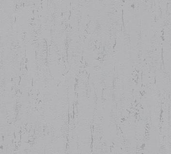 Stein Kacheln Tapete Profhome 364326-GU Vliestapete leicht strukturiert in Steinoptik matt grau 5, 33 m2