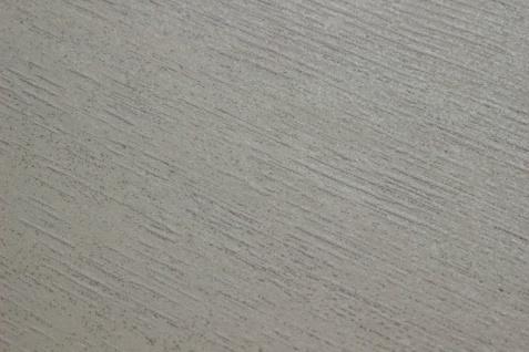 Uni Tapete Atlas TEM-5114-1 Vliestapete strukturiert im Shabby Chic Stil schimmernd creme perl-weiß rein-weiß seiden-grau 7, 035 m2 - Vorschau 2