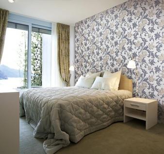 Blumen Tapete XXL Vliestapete EDEM 992-31 Florales Muster geprägte Struktur Luxus Design Tapete creme gold grau 10, 65 m2 - Vorschau 2