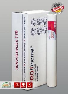 Renoviervlies Malervlies 130 g Objektvlies Profhome Anstrichvlies glatt rissüberbrückend weiß 112, 50 m2 1 Karton 6 Rollen