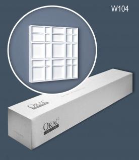 Orac Decor W104 MODERN 1 Karton SET mit 5 Wandpaneelen Zierelementen 1, 01 m2