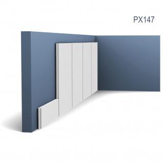 Wandleiste Zierprofil Orac Decor PX147 AXXENT Profilleiste Zierleiste Friesleiste Stuckprofil stoßfest | 2 Meter