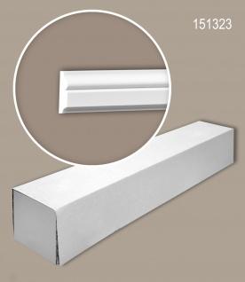 Profhome 151323 1 Karton SET mit 21 Wand- und Friesleisten Zierleisten Stuckleisten | 42 m