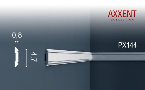 Orac Decor PX144 AXXENT 1 Karton SET mit 30 Wandleisten Zierleisten | 60 m - Vorschau 2