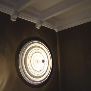 Deckenrosette Stuck Orac Decor R40 LUXXUS Rosette Decken Wand Dekor Element hochwertig stabil 74, 50 cm Durchmesser - Vorschau 4