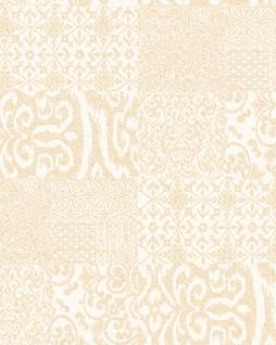 Barock Tapete Profhome VD219146-DI heißgeprägte Vliestapete geprägt im Barock-Stil glänzend creme gold 5, 33 m2