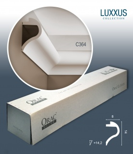 Orac Decor C364 LUXXUS 1 Karton SET mit 7 Stuckleisten | 14 m