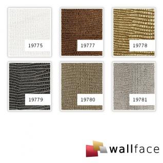 Wandverkleidung Leder Optik WallFace 19777 Antigrav LEGUAN Copper Wandpaneel glatt in Leguanleder Optik matt kupfer kupfer-braun 2, 6 m2 - Vorschau 2