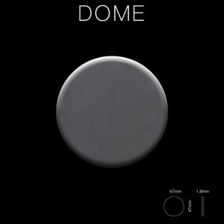 Mosaik Fliese massiv Metall Edelstahl hochglänzend in grau 1, 6mm stark ALLOY Dome-S-S-M 0, 73 m2 - Vorschau 2